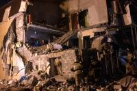 Житель обрушившегося дома в Красноярске рассказал о происшествии