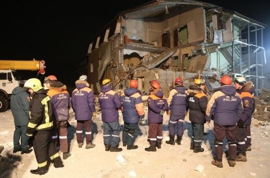СК: обрушившийся в Красноярске дом был самостроем