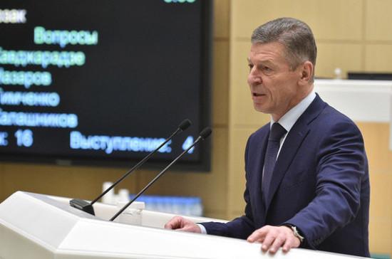 Рост цен на бензин не превысит уровень инфляции, считает Козак