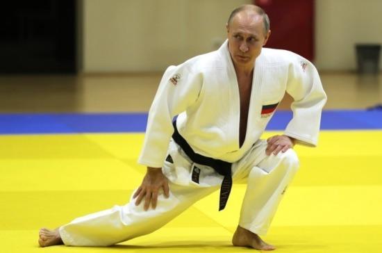 Путин рассказал о полученной на тренировке травме