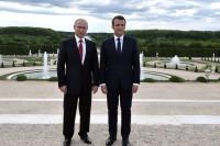 Путин и Макрон отметили необходимость продвижения внутрисирийского политического диалога