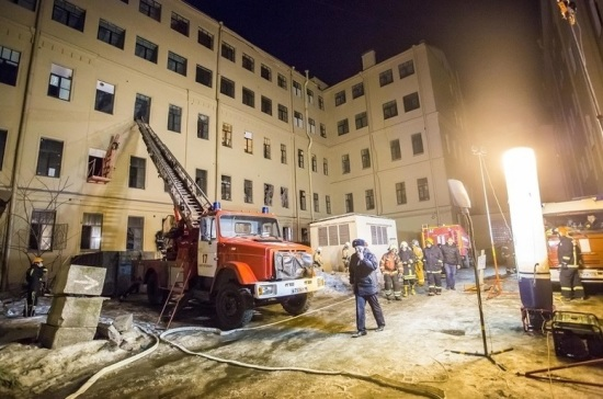 Под завалами на месте обрушения в ИТМО людей не обнаружили