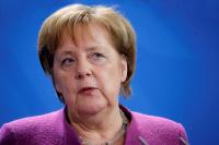 Меркель говорила, как Путин