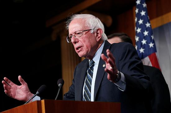 Берни Сандерс будет вновь участвовать в выборах президента США