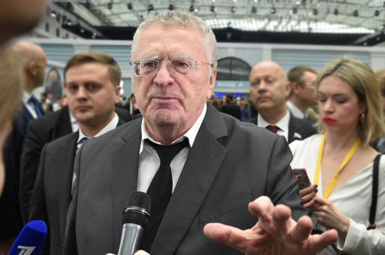 Жириновский: реализация предложенных Путиным социальных льгот приведёт к росту демографии