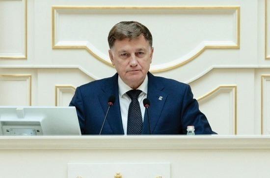 Спикер Заксобрания Петербурга назвал Послание Президента ориентированным на интересы простых граждан