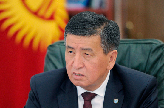 Визит Путина в Киргизию укрепит отношения двух стран, считает Жээнбеков