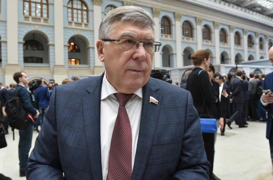 Рязанский: расширение применения электронных виз может потребовать поправок в бюджет