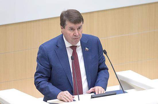 Цеков усомнился в желании Украины разорвать договор с РФ по Азовскому морю