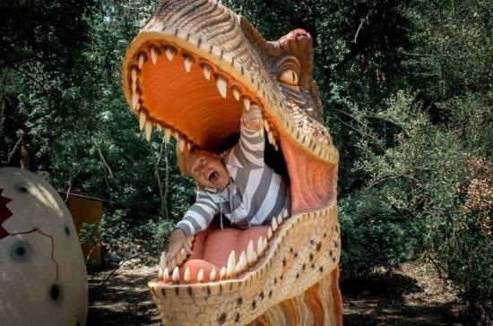 В Крыму в День защитника Отечества мужчины смогут встретиться с динозаврами