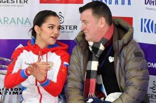 Тренер Медведевой прокомментировал включение фигуристки в состав сборной на ЧМ