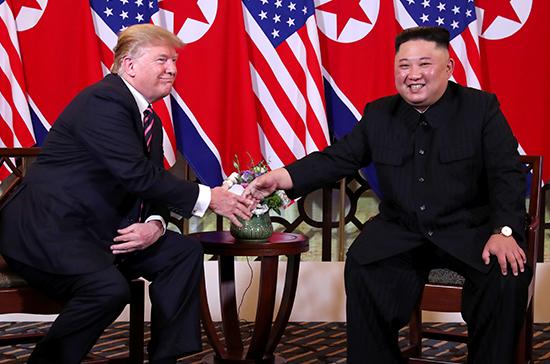 Трамп не исключил возможности подписания мирного договора с Северной Кореей
