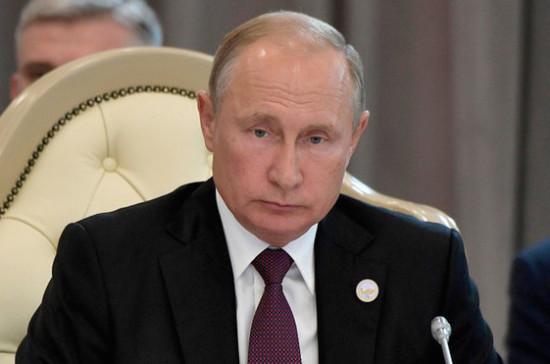 Путин призвал МВД повышать уровень раскрываемости преступлений