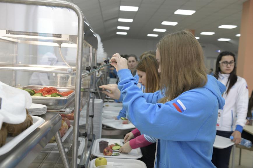 Организаторы рассказали, чем будут кормить атлетов на Универсиаде в Красноярске