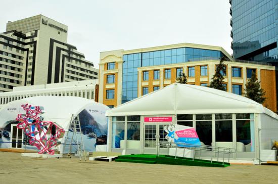 На острове Тактышев открылась главная культурная площадка Универсиады-2019