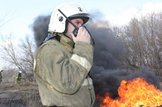 Магистральный газопровод взорвался и загорелся под Рязанью