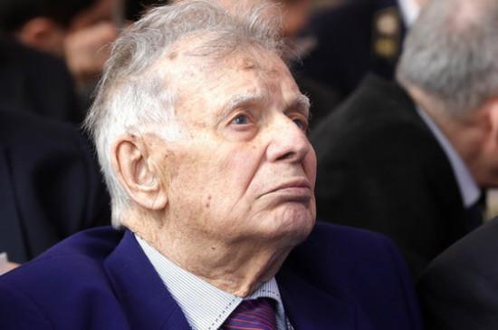 Жореса Алфёрова похоронили на кладбище в Комарове
