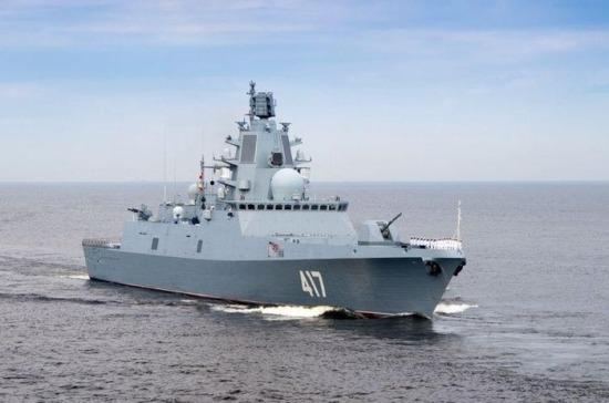 Российские корабли во главе с «Адмиралом Горшковым» вошли в Ла-Манш