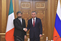 Володин: вопросы гуманитарного сотрудничества — один из приоритетов российско-итальянских отношений