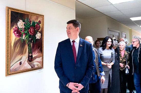 Выставка «С любовью к женщине» открылась в Совете Федерации