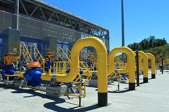 «Газпром» начал продажи газа в Европу за рубли