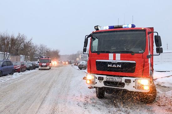 Время прибытия первых пожарных бригад в городские поселения предложили уточнить