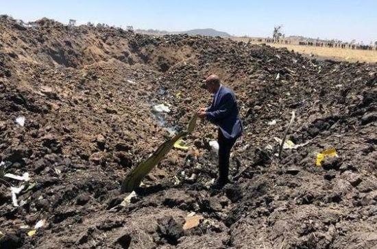 Названы имена погибших в крушении в Эфиопии россиян