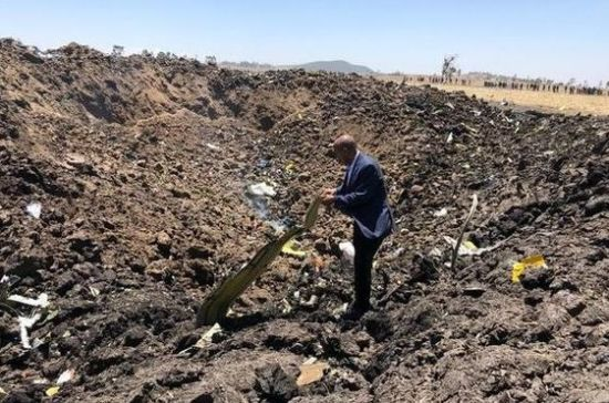 Дипломаты: на борту разбившегося в Эфиопии Boeing мог находиться россиянин