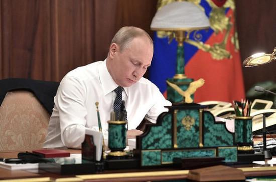 Путин подписал указ о химической и биологической безопасности страны