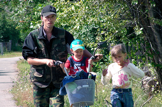 Отцов троих детей освободят от призыва в  армию