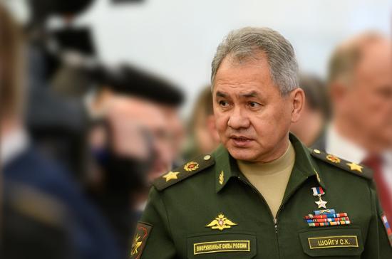 Шойгу: число контрактников в российской армии за шесть лет выросло вдвое