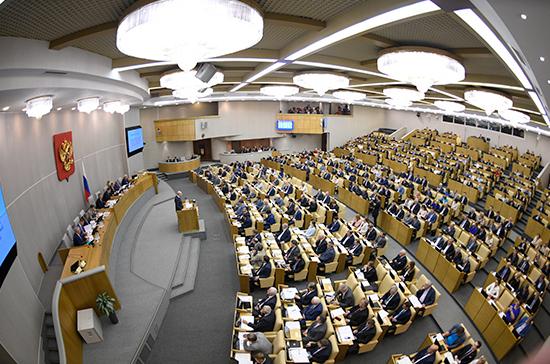 Совет Думы утвердил процедуру рассмотрения отчёта Правительства за 2018 год