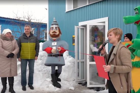 В Вологодской области открылся сельский клуб