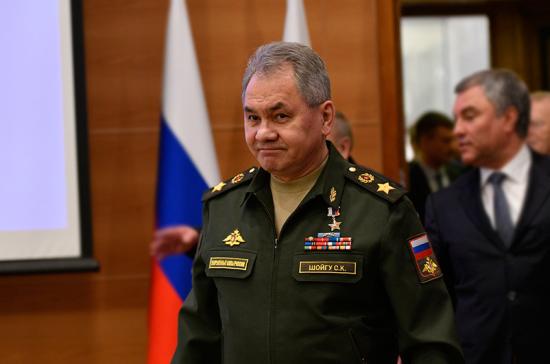 Шойгу: Российская армия в 2019 году получит первые ударные беспилотники