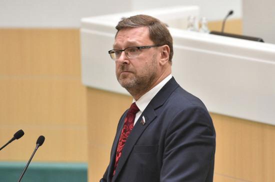 Виновных в бомбардировке Югославии нужно привлечь к ответственности, считает Косачев