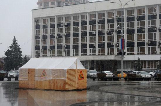 В Краснодаре начали ремонт центрального фонтана