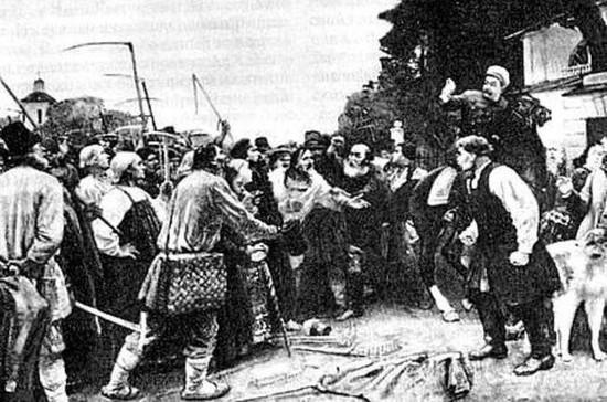 Крестьяне встретили отмену крепостного права массовыми бунтами