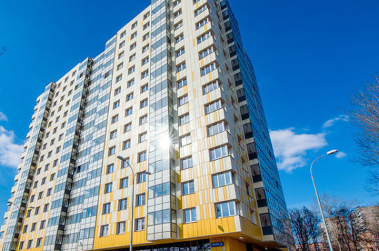 В Москве досрочно выполнили квартальный план по вводу жилья