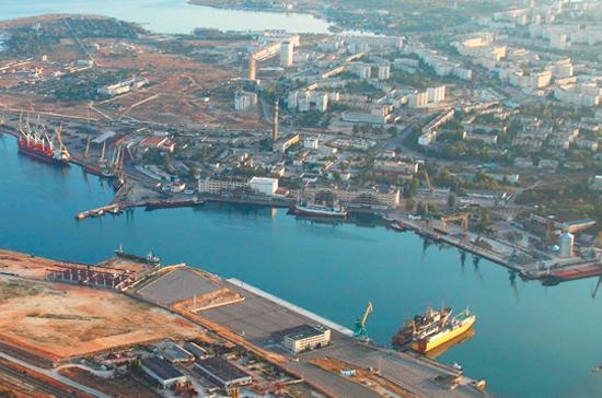 Порт Севастополя предложат включить в состав федеральных структур