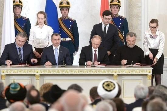 5 лет назад Крым вернулся в родную гавань