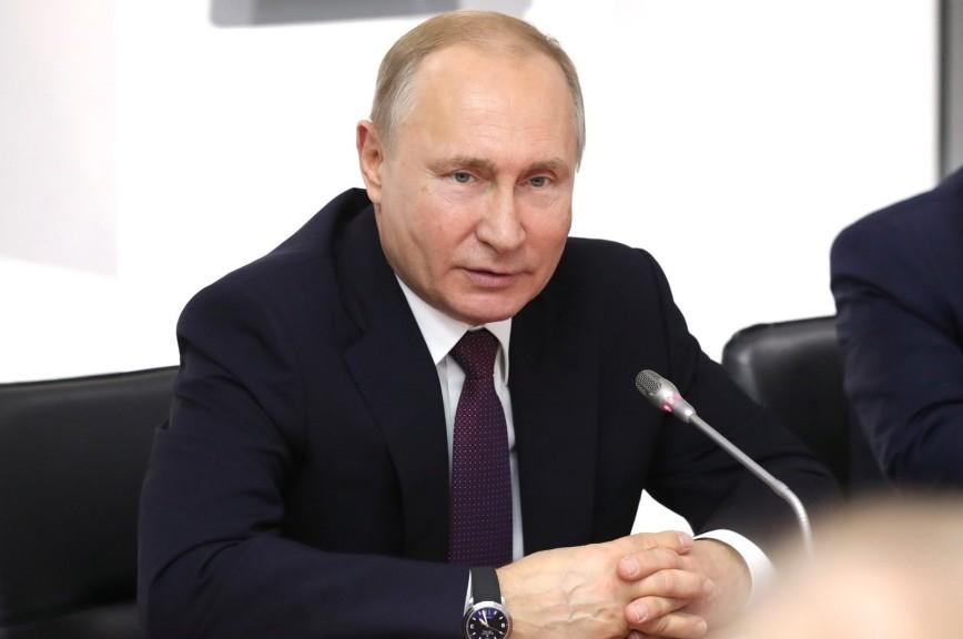 Путин назвал условие для отмены санкций против ЕС