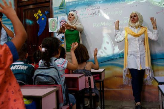 СМИ: в сирийском регионе Даръа восстанавливают разрушенные школы