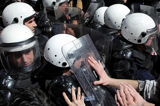 В Белграде после протестов задержали 18 человек