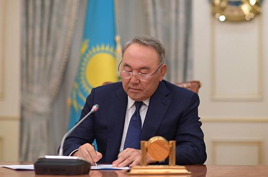 Нурсултан Назарбаев подал в отставку