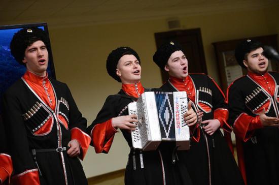 В Госдуме открылась выставка, посвящённая истории русского казачества
