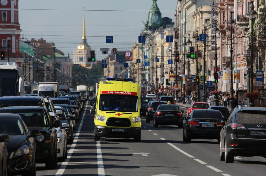 Городской станции скорой помощи Петербурга исполнилось 120 лет