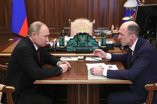Путин назначил Хорохордина врио главы Республики Алтай