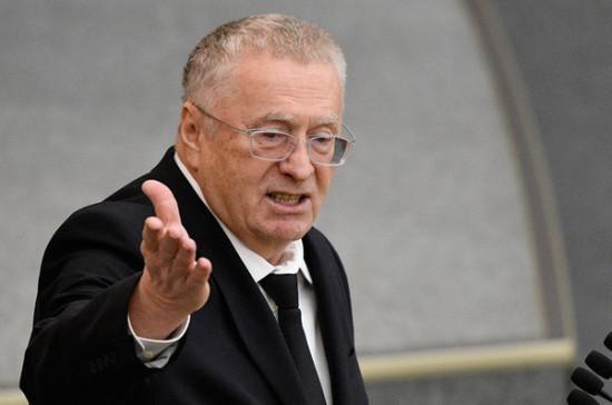 Жириновский встал на защиту Караджича
