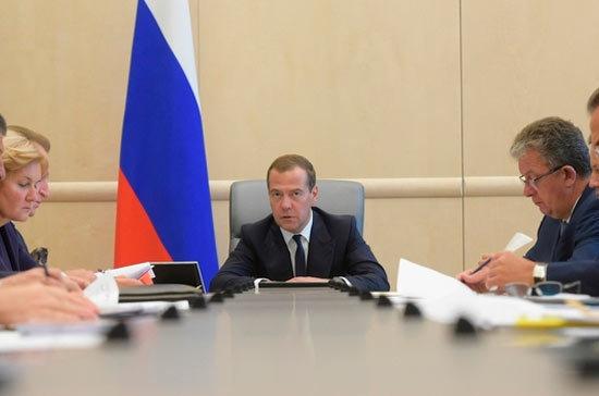 Медведев поручил доложить о причинах задержек строек в рамках федеральной инвестиционной программы