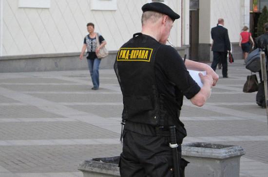 В Госдуме подготовили новую редакцию закона о частной охранной деятельности